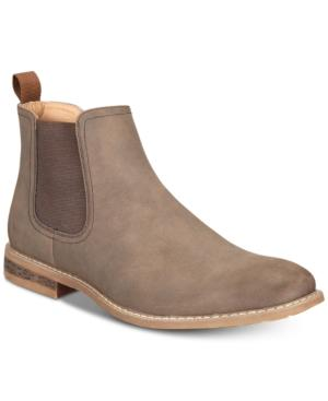 Nautica Men's Coffey Suede Chelsea Boots Men's Shoes