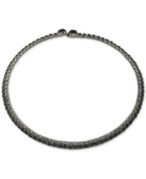 Abs By Allen Schwartz Crystal Choker Necklace