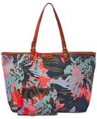 Fossil Rachel Fabric Tote With Pouch