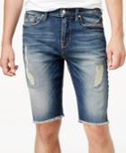 Guess Men's Distressed Denim Shorts