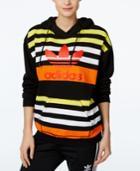 Adidas Originals Striped Trefoil Hoodie