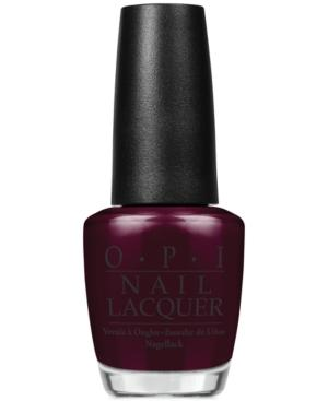 Opi Nail Lacquer, Midnight In Moscow