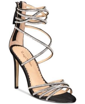 Bebe Bernadette Strappy Embellished Dress Sandals Women's Shoes