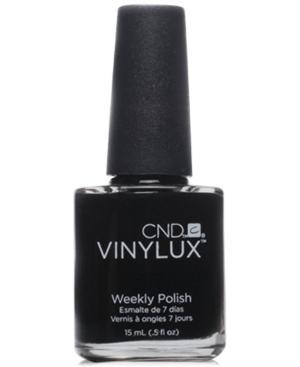 Creative Nail Design Vinylux Black Pool Nail Polish