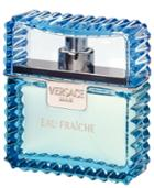 Versace Man Eau Fraiche Eau De Toilette Spray, 3.4 Oz