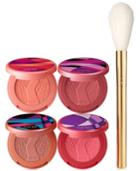 Tarte Sculpted Cheeks Deluxe Amazonian Clay Blush Set And Brush