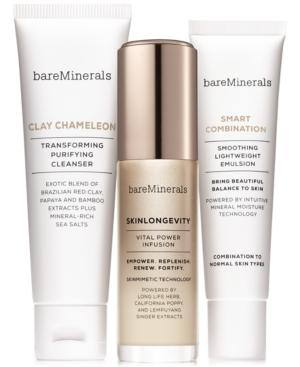 Bareminerals 3-pc. Skinsorials Purify Empower Moisturize Normal To Combination Skin Set - A $82 Value