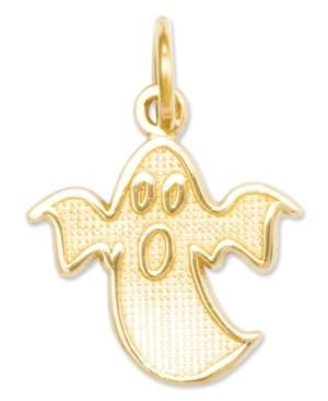 14k Gold Charm, Ghost Charm