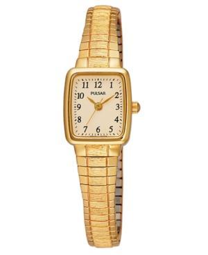 Pulsar Watch, Women's Stainless Steel Bracelet Pph520