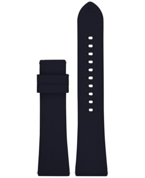 Emporio Armani Connected Blue Rubber Smart Watch Strap