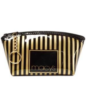 Macy's Striped Makeup Bag, Only At Macy's