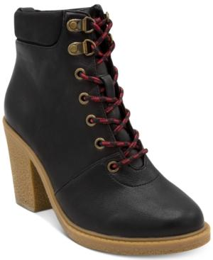 Nautica Women's Howse Lace-up Booties Women's Shoes