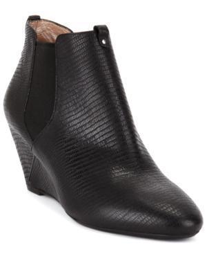 Dkny Women's Georgia Wedge Booties Women's Shoes