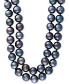 Effy Cultured Tahitian Pearl (10mm) 37 Inch Long Strand Necklace
