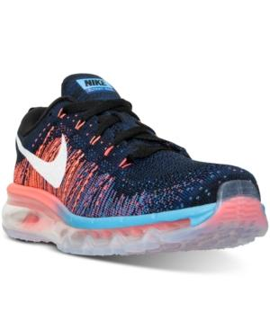 Nike Men's Flyknit Max Running Sneakers From Finish Line