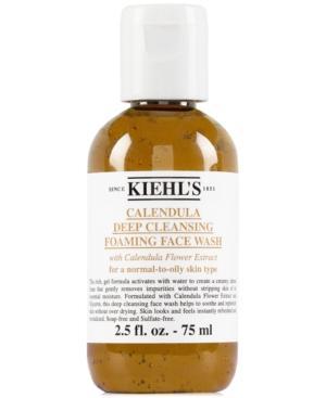 Kiehl's Since 1851 Calendula Deep Cleansing Foaming Face Wash, 2.5 Fl. Oz.