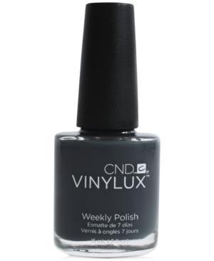 Creative Nail Design Vinylux Asphalt Nail Polish