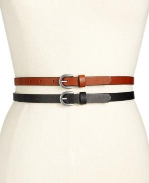 Inc International Concepts 2-for-1 Skinny Belts, Only At Macy's