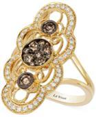 Le Vian Chocolatier Chocolate Deco Estate Gold Diamond (7/8 Ct. T.w.) Ring In 14k Gold