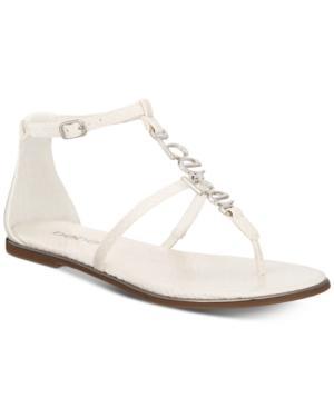 Bebe Pamelaa Flat Sandals Women's Shoes