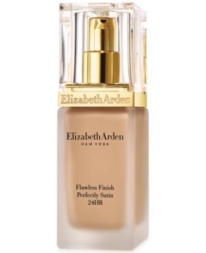 Elizabeth Arden Flawless Finish Perfectly Satin 24hr Makeup Broad Spectrum Spf 15, 1.0 Oz.