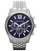 Michael Kors Men's Chronograph Lexington Stainless Steel Bracelet Watch 45mm Mk8280
