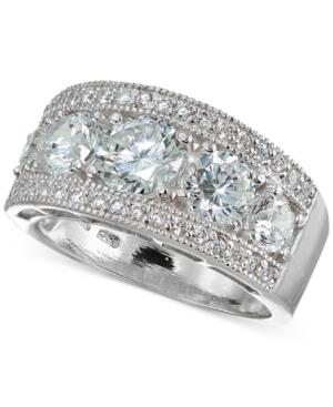 Giani Bernini Cubic Zirconia Cluster Statement Ring In Sterling Silver, Created For Macy's