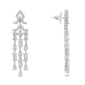 Nina Mini Crystal Chandelier Earrings