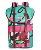 Steve Madden Men's Crash Printed Utility Backpack