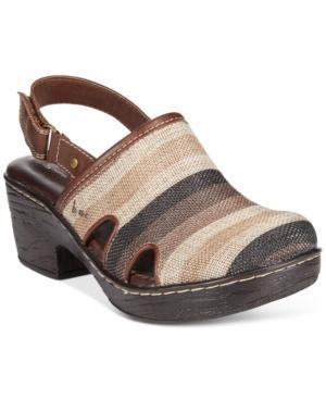 B.o.c Lyza Slingback Clogs Women's Shoes