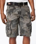 Affliction Men's Camo Cargo Shorts