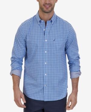 Nautica Men's Mini-plaid Shirt
