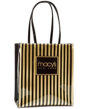Macy's Thin Striped Tote, Only At Macy's