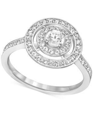 Swarovski Crystal Circle Ring