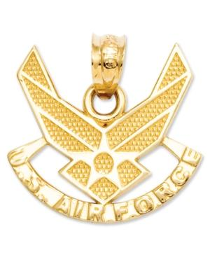14k Gold Charm, U.s. Air Force Charm