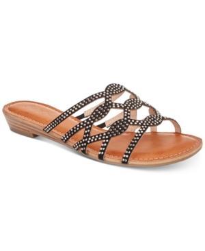 Bebe Meera Flat Sandals Women's Shoes