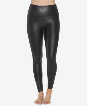 Spanx Pebbled Faux-leather Leggings