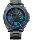 Hugo Boss Men's Boss Orange Sao Paulo Black Ion-plated Stainless Steel Bracelet Watch 50mm 1513160