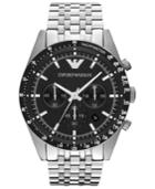 Emporio Armani Watch, Men's Chronograph Stainless Steel Bracelet 46mm Ar5988