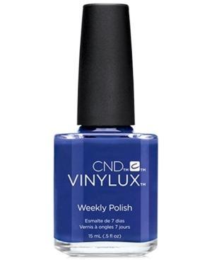 Creative Nail Design Vinylux Blue Eyeshadow Nail Polish