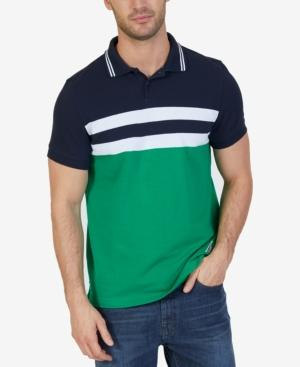Nautica Men's Classic-fit Heritage Colorblocked Polo