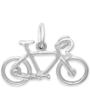 Rembrandt Charms Sterling Silver Bicycle Charm