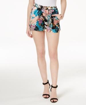 Guess Shakira Floral-print Shorts