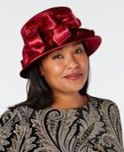 August Hats Enchanting Velvet Cloche