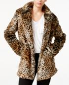 Sanctuary Kate Animal-print Faux-fur Jacket