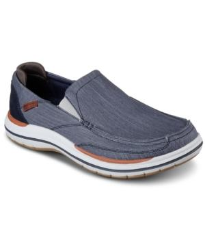 Skechers Men's Elson - Amster Slip-on Casual Sneakers From Finish Line