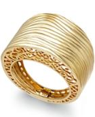 Textured Ring In 14k Gold