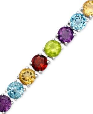 Sterling Silver Bracelet, Multistone (18 Ct. T.w.)