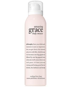 Philosophy Amazing Grace Body Serum Mousse, 4.8 Oz