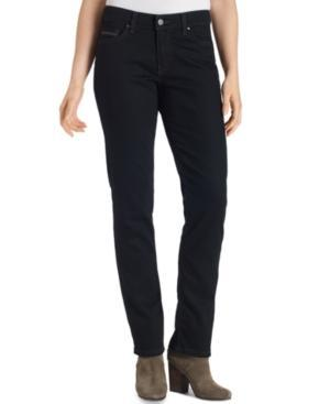 Levi's Mid-rise Skinny Jeans, Black Ink Wash